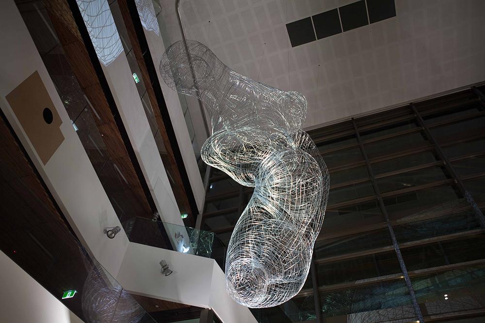 andrew stumpfel stusha studio synapse sculpture