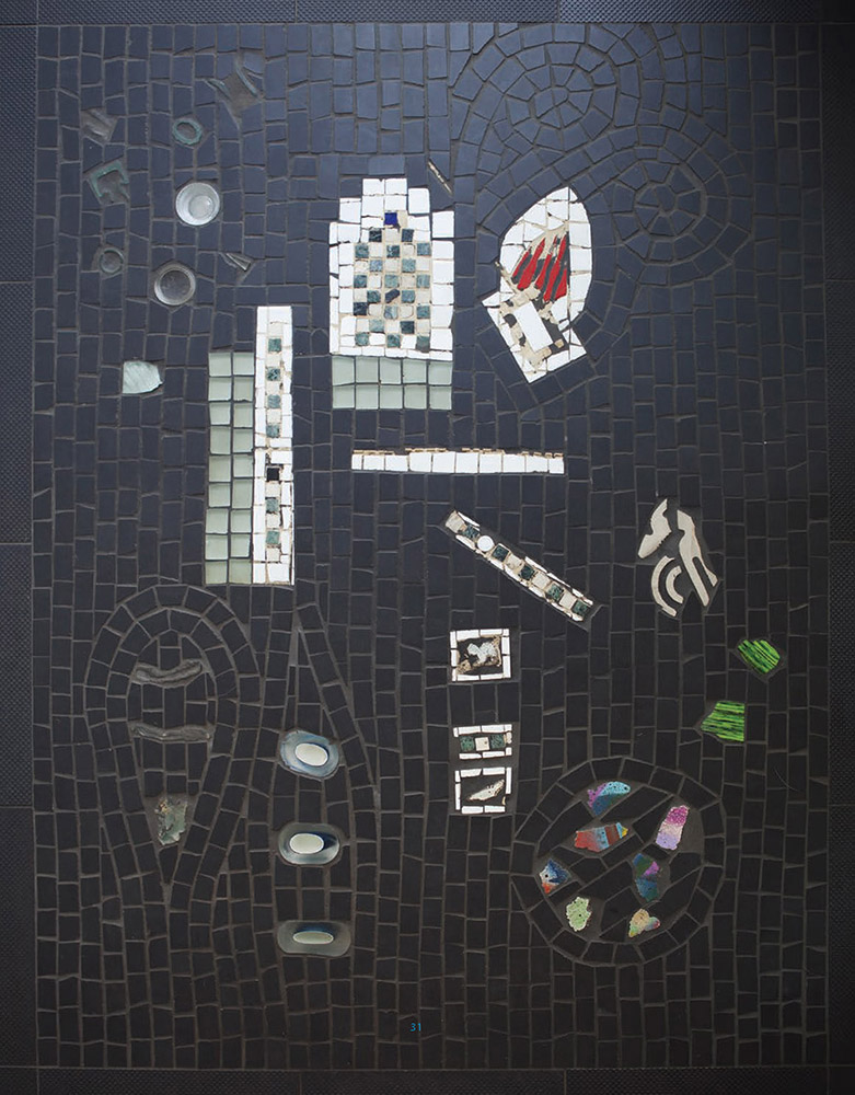 mosaic chromtec tile berlin wall masada insulator stump stumpfel stusha studio