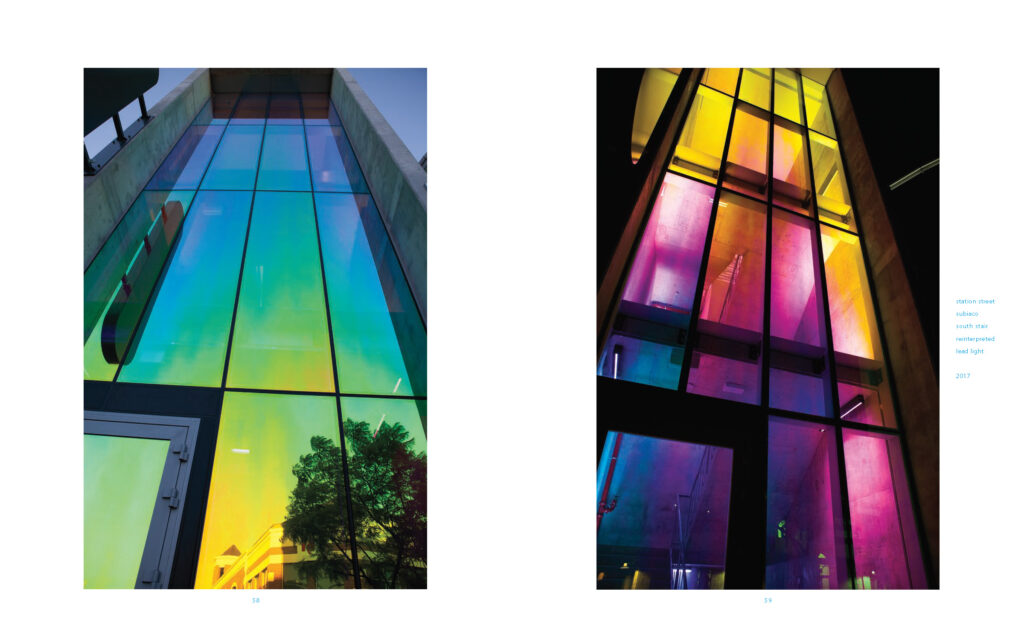 stump stusha stumpfel glass art facade design